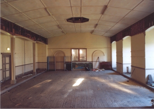 Interior of Dale Hall in the 1990's