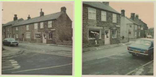 A & E Bramley's Drapers Shop circa 1979/1980 (Photograph's from Shaun Wilson's Hampsthwaite collection - click on photos to see collection and quit new window to return to here))