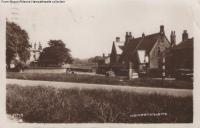 The School & Green, Hampsthwaite - Circa 1941 - click for full size image