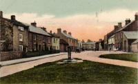 Village Green - old postcard