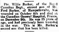 F.W.Barker Obituary - click for full size image