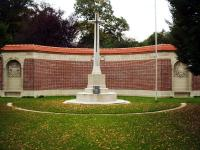Hazebrouck Cemetry Memorial - click for full size image
