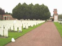 Hazebrouck Cemetry War Graves - click for full size image