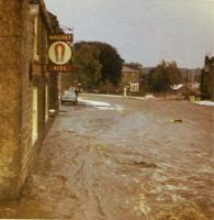 The Joiners Arms - Freak Hailstorm and Flood July 2nd 1968 - click for full size image