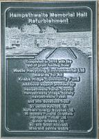 Commemorative Plaque - click for full size image