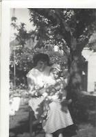 Mary Watson (auntie) in Beer Garden with John Shuffe - click for full size image